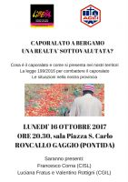 Caporalato a Bergamo