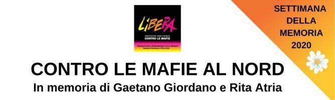 In memoria di Gaetano Giordano e Rita Atria