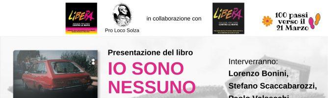Presentazione del libro IO SONO NESSUNO di Piero Nava